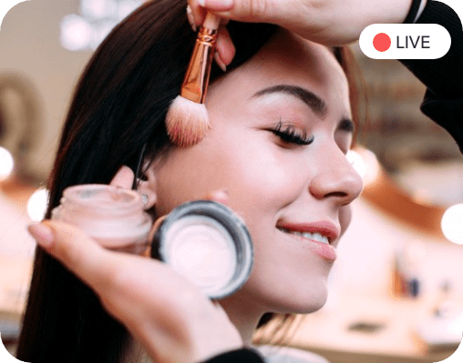 Live Streaming Commerce for the Beauty & Cosmetics Industry