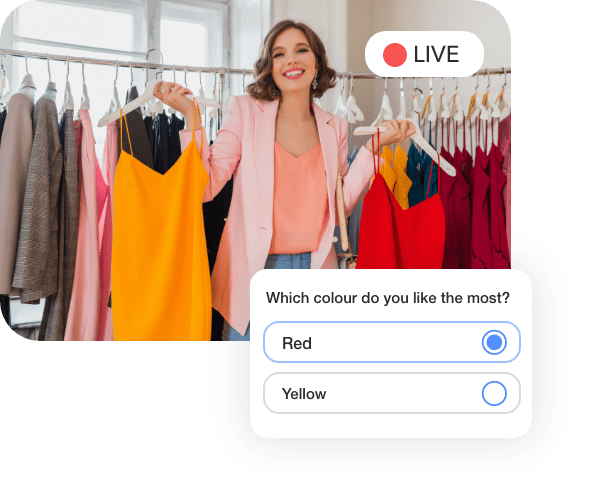 Live Streaming Commerce for the Fashion & Jewellery  Industry
